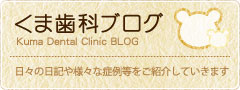 くま歯科ブログ